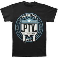 Pierce The Veil Men's  Shield T-shirt Black