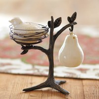 Partridge in a Pear Tree Salt & Pepper Shakers