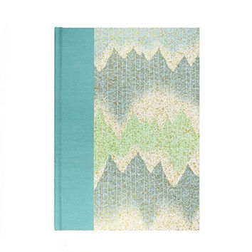 Address Book  Large Aqua Tree Line