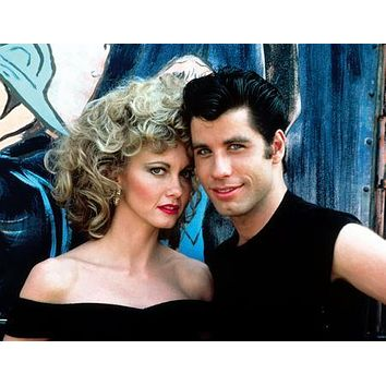 Grease Cast Movie Sandy And Danny 11 inch x 17 inch poster