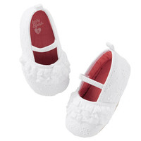 OshKosh Eyelet Espadrille Crib Shoes
