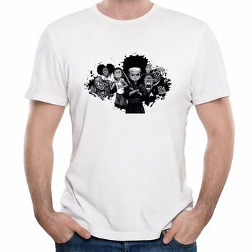 The Boondocks Huey Freeman Riley Freeman slim T shirt