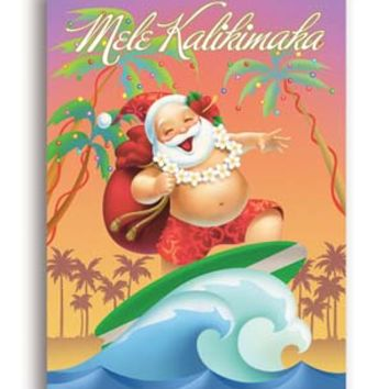"""Christmas Cards """"Jolly Wave"""" 12-pack"""