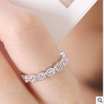 R014 Design Lovely Simply Rings Jewelry Factory Directs