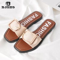 CBJSHO 2017 Summer Women Slippers Non-slip Basic Sides Home Slippers Woman Flat Shoes