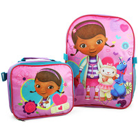 Disney Doc McStuffins Backpack and Lunch Bag Set