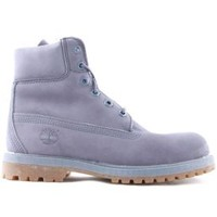 Timberland, Womens 6inch Premium Waterproof Boots - Slate Blue - Timberland Womens - MOOSE Limited