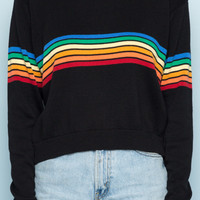 Jessica Rainbow Sweater - Sweaters - Clothing