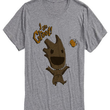 i am groot smile Costom T-shirt