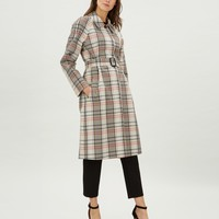 Check Trench Coat | Jaeger