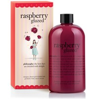 raspberry glazed | shampoo, shower gel & bubble bath | philosophy bath & shower gels