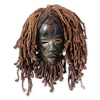 Liberian Handmade Wood Mask