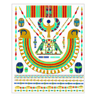 Ancient Egyptian Jewelry Temporary Tattoos