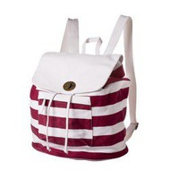 Item: Mossimo Supply Co. Red Stripe Washed Backpack