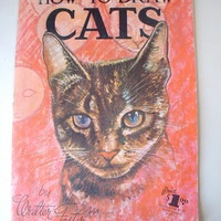 How To Draw Cats Book Walter Foster 1950s