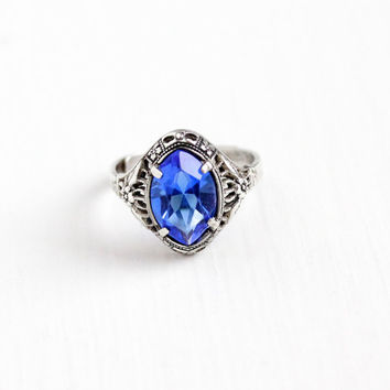 Best Vintage Blue Stone Ring Products On Wanelo