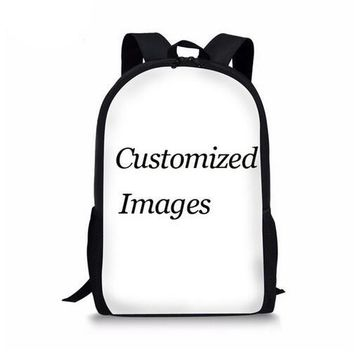 Boys bookbag trendy Noisydesigns 3PCS/Set Student Schoolbag Backpack School Bags For Teenagers boys Cute Printing Primary s Pencilbox back AT_51_3