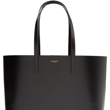 Saint Laurent Double Face Leather Shopper