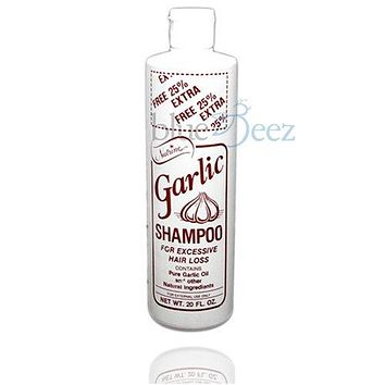 Nutrine Garlic Shampoo 20 oz. Scented