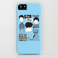 The Fault In Our Stars Collage iPhone & iPod Case by Laurenschroer