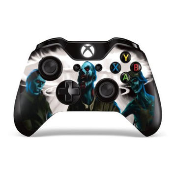 Designer Skin Sticker for the Xbox One Wireless Controller Decal Zombie Trooper