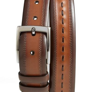 Mezlan 'Diver' Leather Belt,