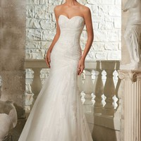 Blu by Mori Lee 5309 Mermaid Wedding Dress