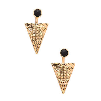 Ladies Earrings Strong Character Fashion Geometric Set [4956848068]