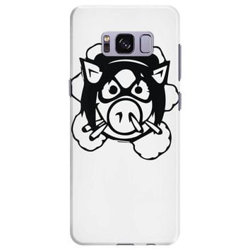 pig wheels angry Samsung Galaxy S8 Plus