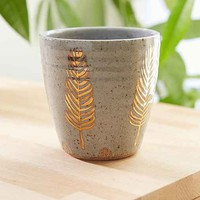 Pickle Pottery Speckled Feather Tumbler- Grey One
