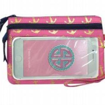 Simply Southern Phone Wristlet-Anchor