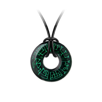 Alchemy Gothic Angel Ring Pendant Necklace