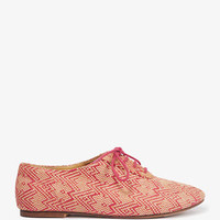 Woven Zigzag Oxfords | FOREVER 21 - 2021840598