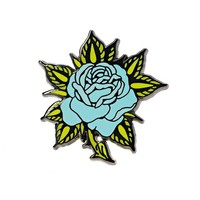 Blue Rose Pin
