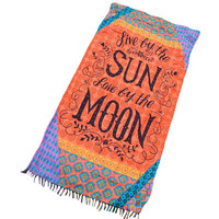 2017 Summer beach cotton towel blanket enjoy sun and moon african print fabric mandala tapestry cloth vestidos de fiesta A42105