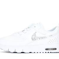 Girls' Nike Air Max Thea - Crystallized Swarovski Swoosh - Infant/Toddler (2c-10c)