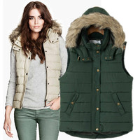 Winter Cotton Vest Jacket [9584885578]