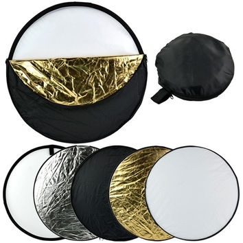 """24"""" 60cm 5 in 1 Photography Studio Multi Photo Collapsible Light Reflector  D_L [7861066247]"""