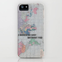 Lost Without You iPhone Case by Catherine Holcombe | Society6