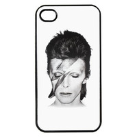 David Bowie Bolt Hard Back Plastic Cell Phone Cover - iPhone 4/4s 5/5c/5s 6/6s