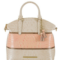 Brahmin Caron Collection Large Duxbury Bucket Satchel | Dillards