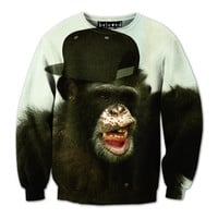 Gorilla Gangsta Sweatshirt - READY TO SHIP