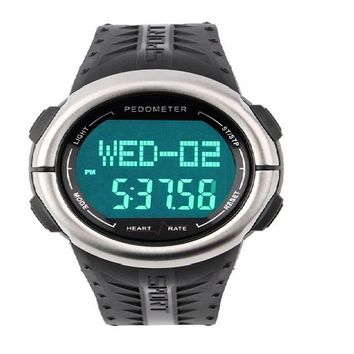 Heart Rate Monitor LED Sport Watch
