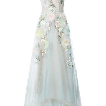 Marchesa Notte Embellished Ball Gown - Farfetch