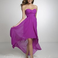 Pretty Maids 22531 High Low Bridesmaid Dress