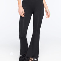 Lira Lara Womens Pants Black  In Sizes