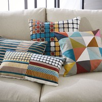Wallace Sewell Crewel Pillow Covers