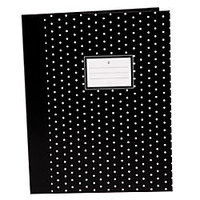 See Jane Work Presentation Folders Bifold Black Dots by Office Depot