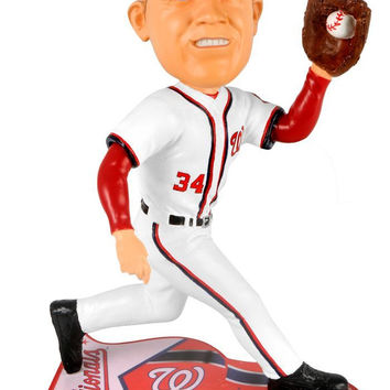 Washington Nationals Bryce Harper Forever Collectibles Pennant Base Bobble Head