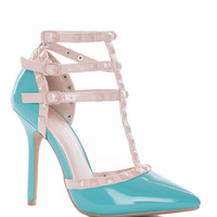 Unstoppable Pumps - Turquoise